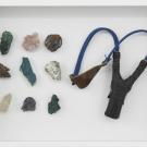 younes_baba-ali_coffret_de_survie_4_2020_slingshot_and_raw_minerals_from_katanga_30_x_40_x_6_cm_photo_by_hugard_and_vanoverschelde